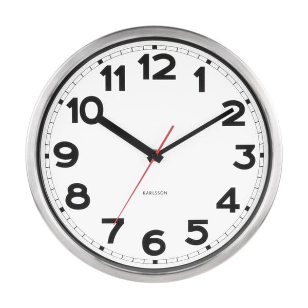 Nástěnné hodiny Karlsson Number, Ø 29 cm