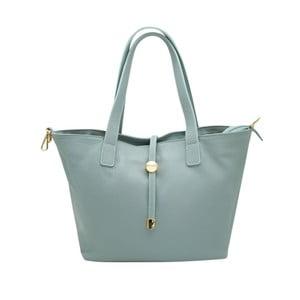 Světle modrá kabelka z pravé kůže Andrea Cardone Matteo
