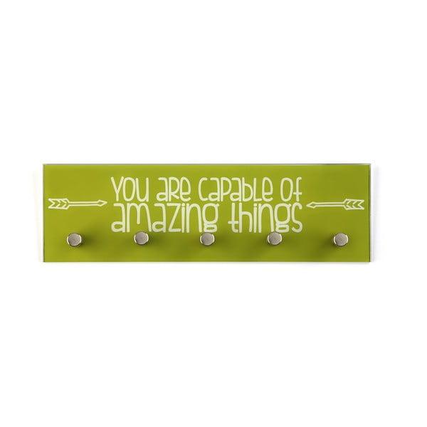 Cuier pentru chei Versa Amazing, verde