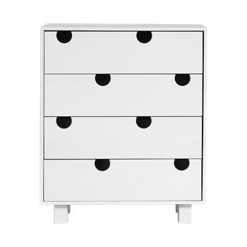 Comodă cu patru sertare Karup Design House, alb de la Karup Design