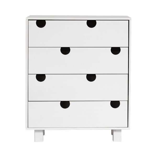 Komoda so štyrmi zásuvkami Karup Design House White/White