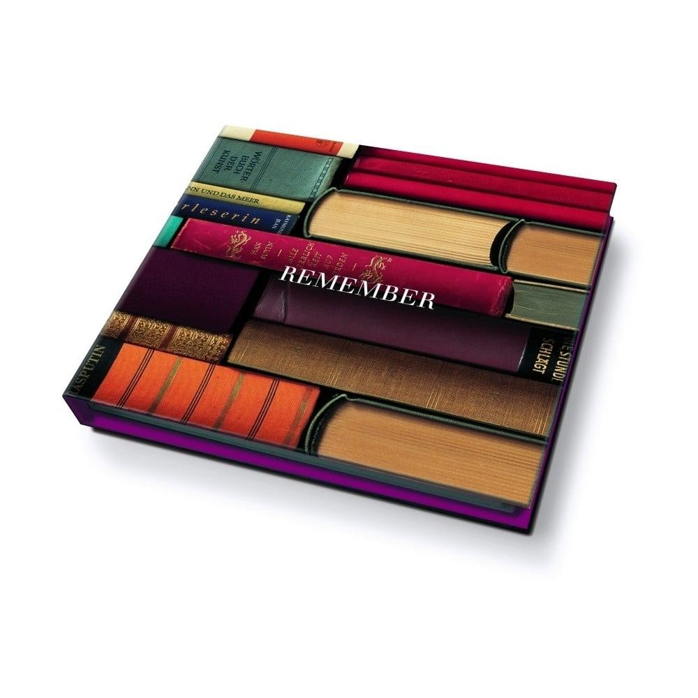 Poznámkový blok Remember Bookworm, 200 listů
