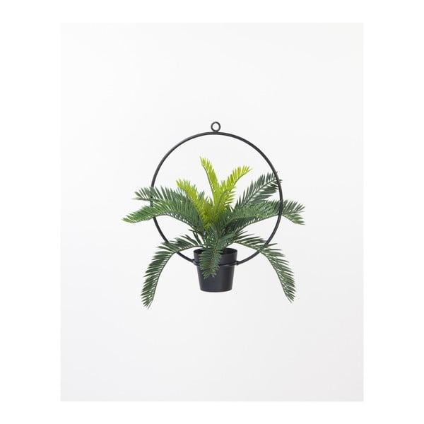 Čierna závesná dekorácia na kvetináč Surdic, ⌀ 30 cm