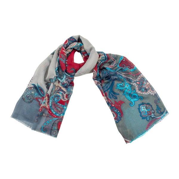 Vlněný šátek Shirin Sehan - Vanessa Fog