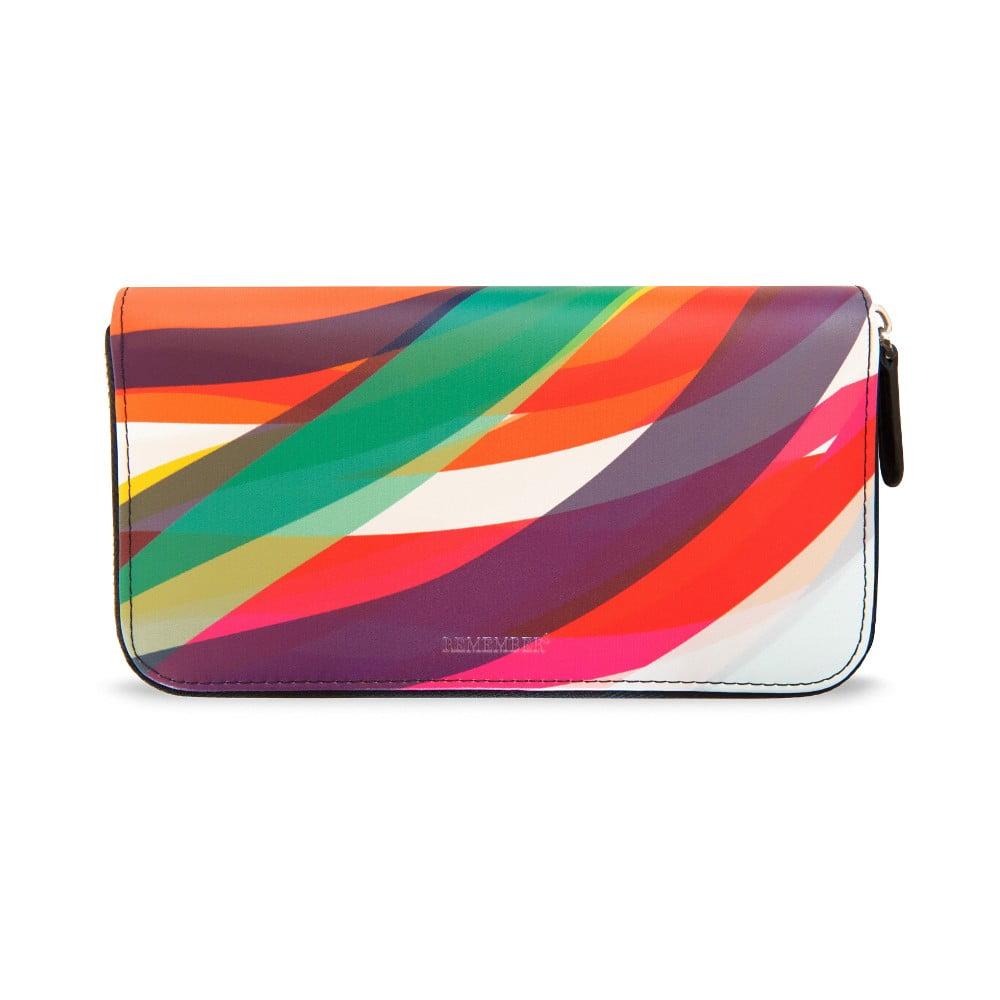 Kožená dámská peněženka Remember Wave