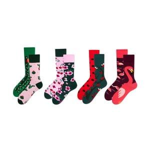 Sada 4 párů ponožek v dárkovém balení Many Mornings Blossom, vel. 43–46