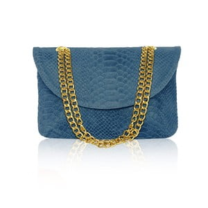 Kožená kabelka Gaia, modrá