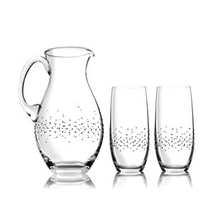 Sada karafy a 2 sklenic Siena se Swarovski Elements v luxusním balení