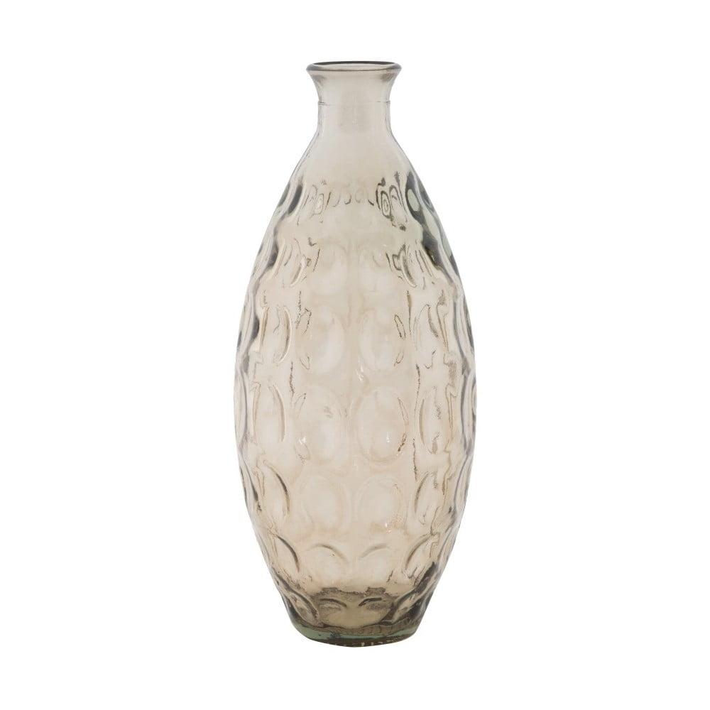 Kouřově šedá váza z recyklovaného skla Mauro Ferretti Balls, ⌀ 15,5 cm Mauro Ferretti