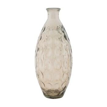 Vază din sticlă reciclată Mauro Ferretti Ball,, ⌀ 15,5 cm, gri de la Mauro Ferretti