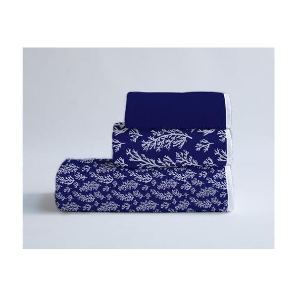 Sada 3 bavlnených uterákov Velvet Atelier Corals