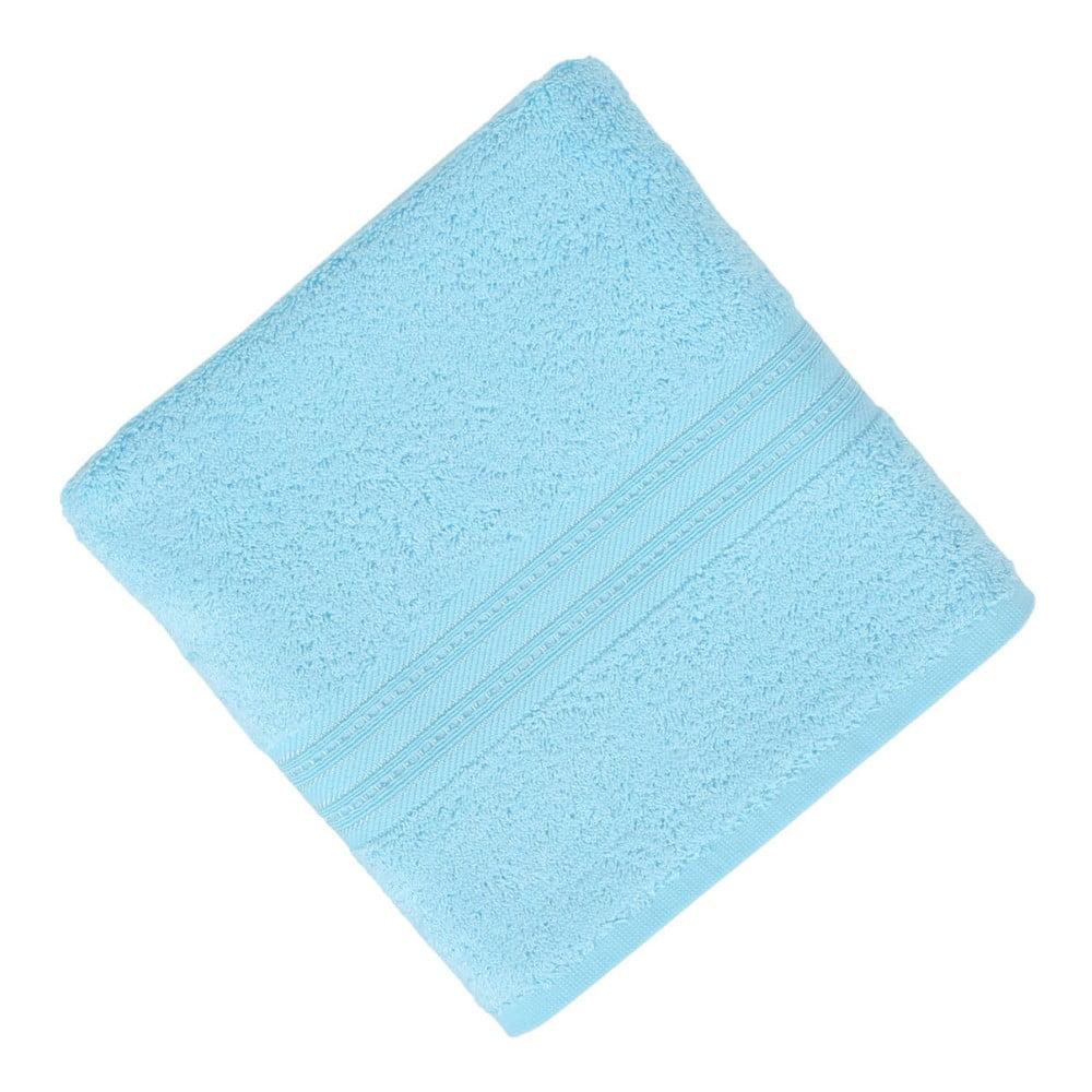 Světle modrý ručník Lavinya, 50 x 90 cm