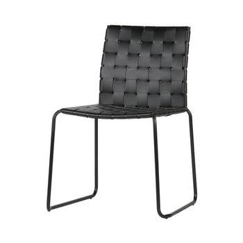 Set 2 scaune BePureHome Icon, negru de la BePureHome