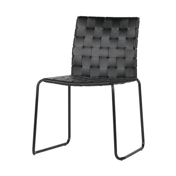 Set 2 scaune BePureHome Icon, negru