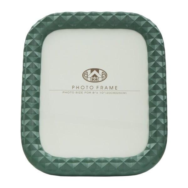 Zelený fotorámeček Mauro Ferretti Block, 20x25cm