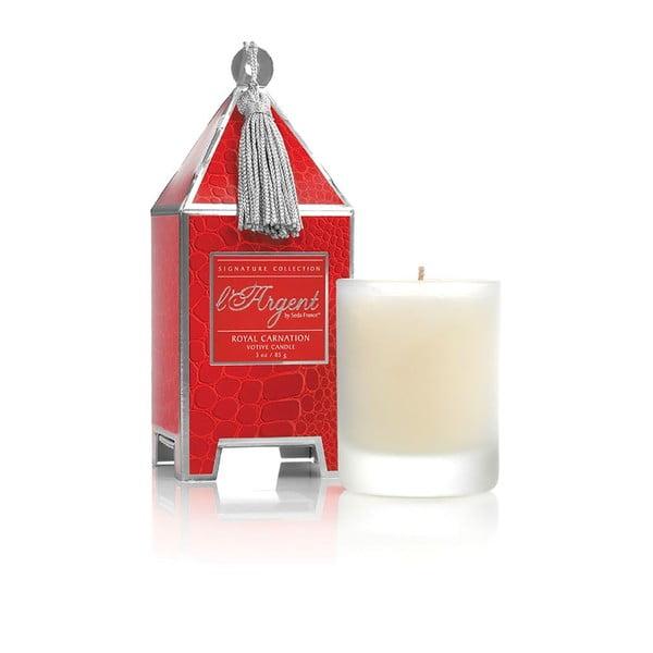 Sada 2 svíček Royal Carnation, 15-20 hodin hoření