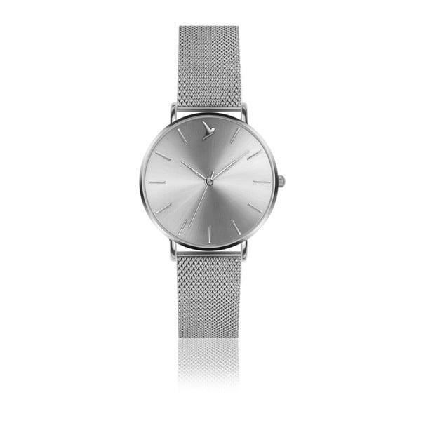 Dámske hodinky s remienkom z antikoro ocele v striebornej farbe Emily Westwood Top