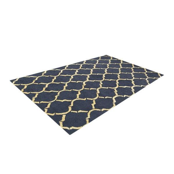 Koberec Chain Navy/Beige, 153x244 cm