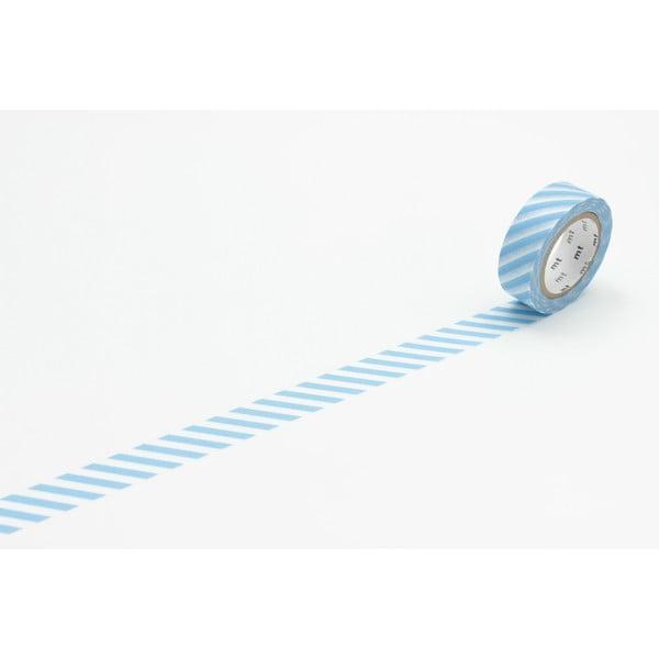 Washi páska Stripe Baby Blue