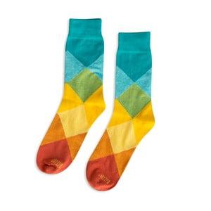 Ponožky Argyle, vel. 35-38