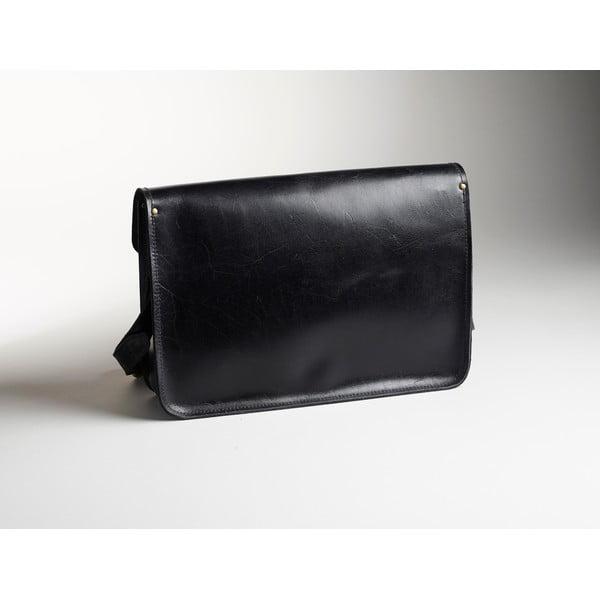 Pánská kožená taška Winter Smoke Satchel, 40 cm