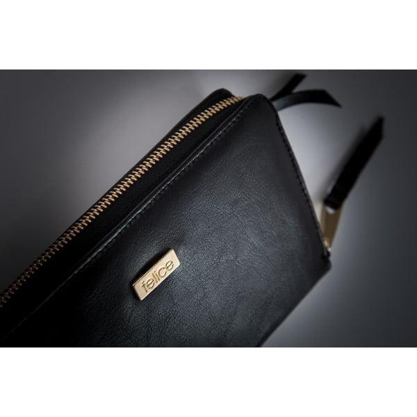 Kožená peněženka Felice P01 Black