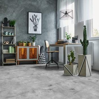 Autocolant de podea Ambiance Waxed Concrete, 60 x 60 cm imagine
