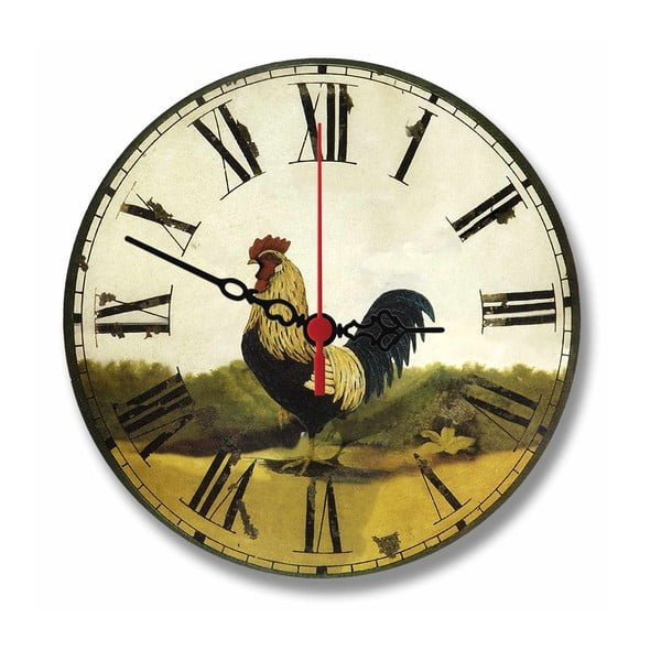 Nástěnné hodiny Countryside, 30 cm