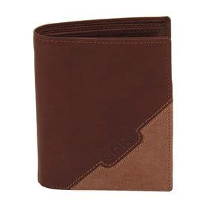 Hnědá kožená peněženka Friedrich Lederwaren Cognac Gill