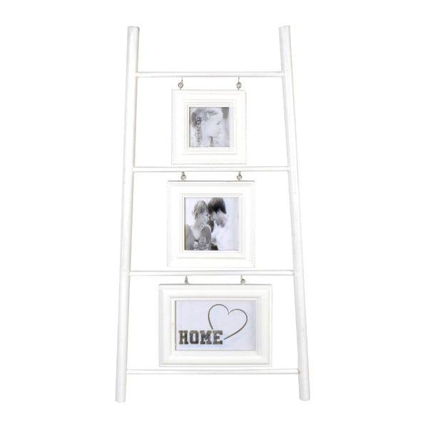 Trojitý fotorámeček White Ladder