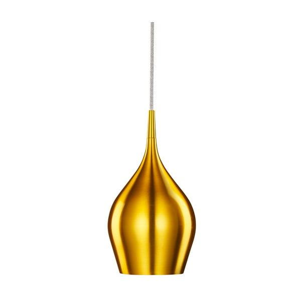 Stropní světlo Searchlight Vibrant, 12 cm, zlatá
