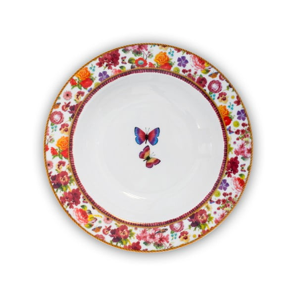 Porcelánový hluboký talíř Melli Mello Isabelle, 21.5 cm
