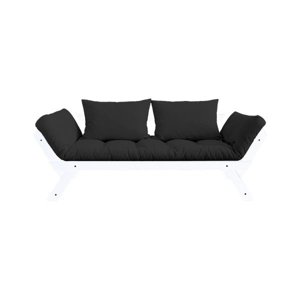 Canapea extensibilă Karup Design Bebop White/Dark Grey
