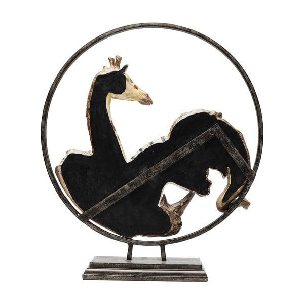 Statuetă decorativă Kare Design Animal Circle, înălțime 57 cm