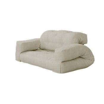Canapea extensibilă Karup Design Hippo Linen, bej de la Karup Design
