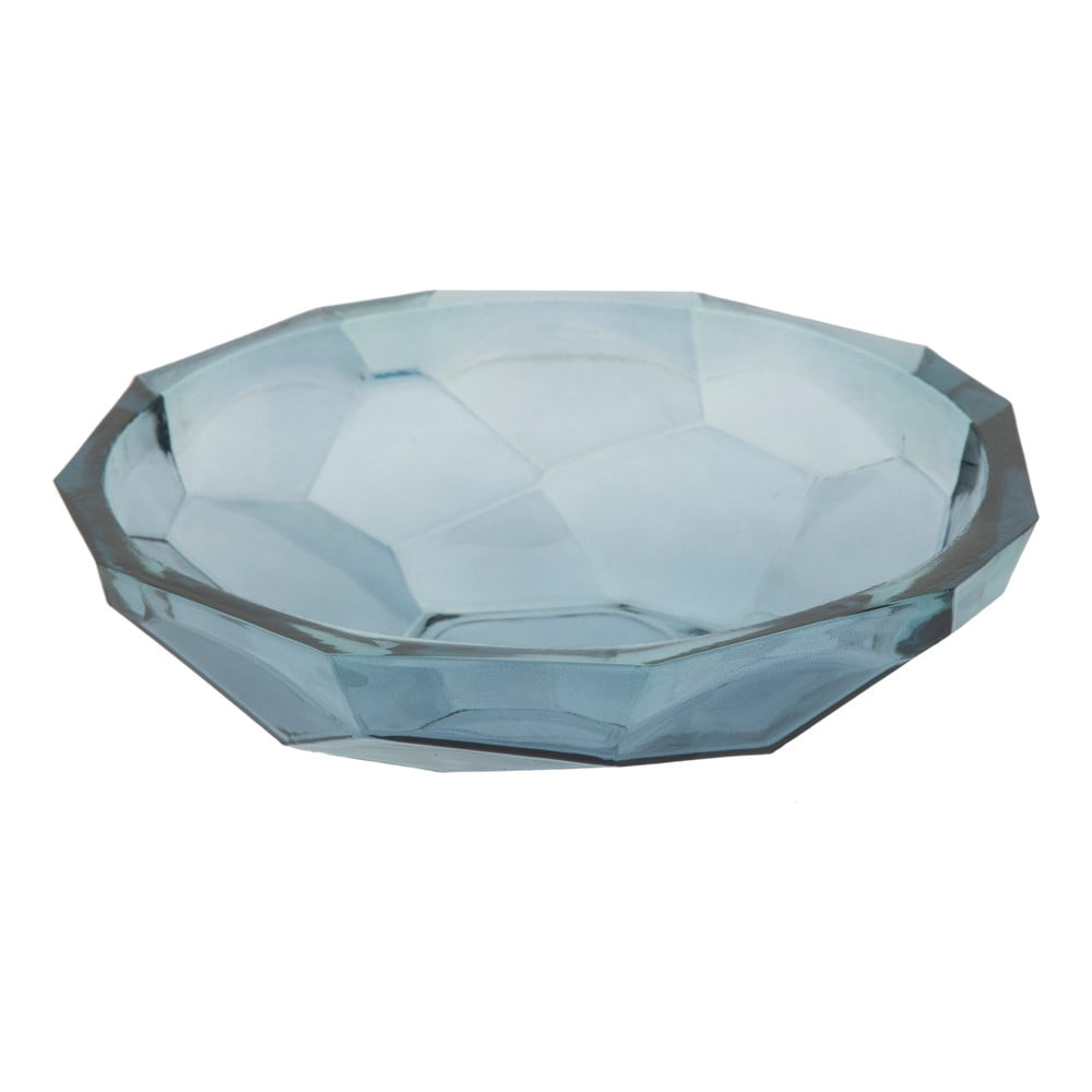 Modrá miska z recyklovaného skla Mauro Ferretti Stone, ø34cm