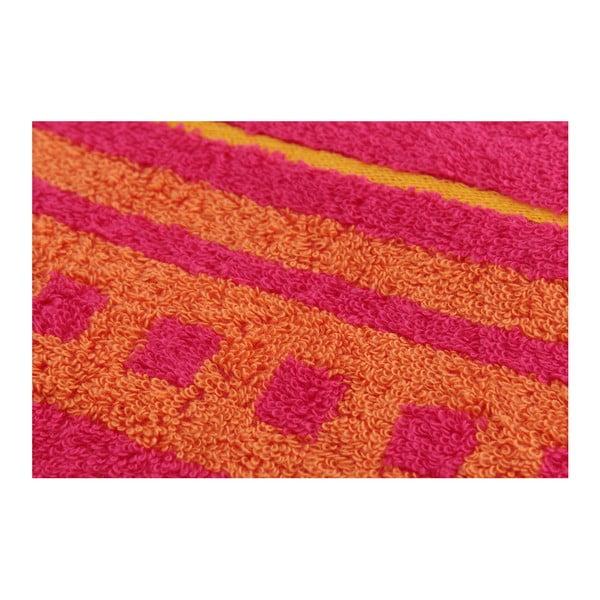 Sada 2 osušek Clay Raspberry, 70x140 cm