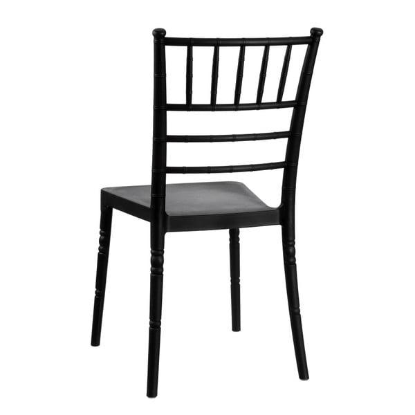 Černá jídelní židle Ixia Room