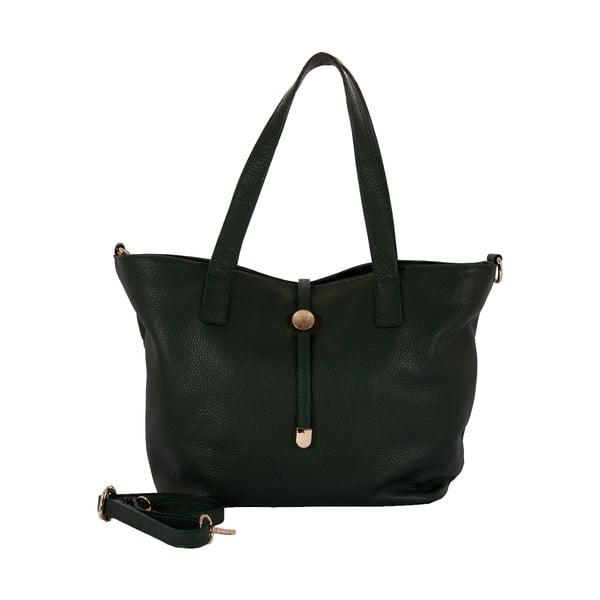 Zelená kabelka z pravé kůže Andrea Cardone Matteo