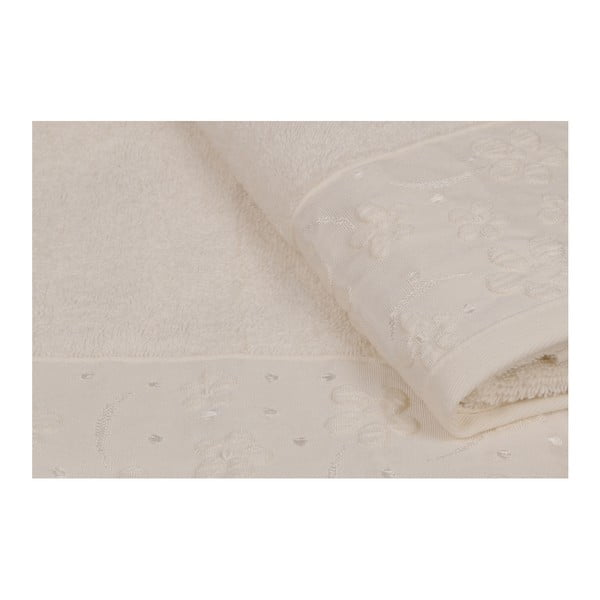 Sada 2 ručníků z čisté bavlny Marian, 90 x 150 cm