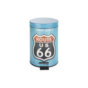 Pedálový retro odpadkový koš Wenko Route 66, 3 l