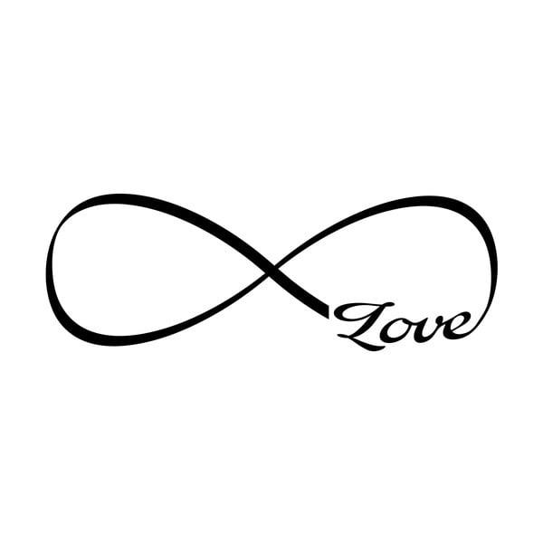 Samolepka Ambiance Infinity Love