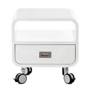 Bílý noční stolek Tomasucci Plano
