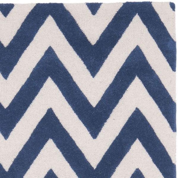 Koberec Stella 91x152 cm, modrý