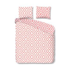 Růžové bavlněné povlečení Good Morning Frits,140x200cm