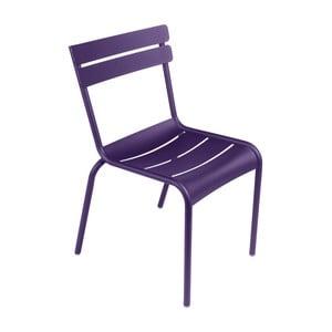 Fialová zahradní židle Fermob Luxembourg