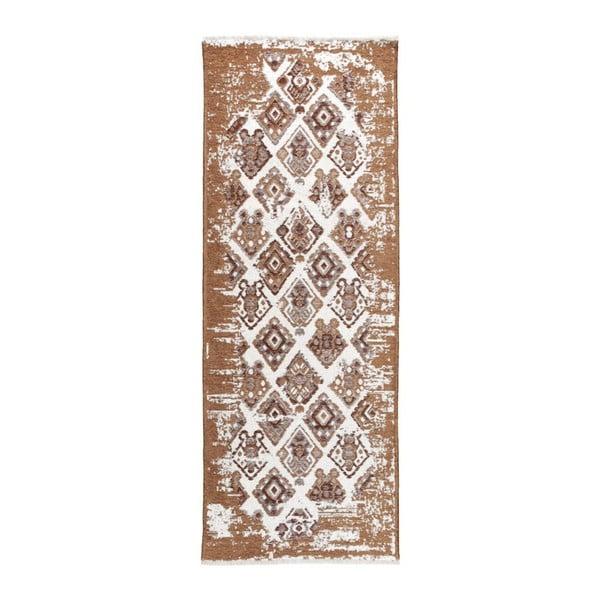 Covor reversibil Homemania alimod, 77 x 200 cm, bej-maro