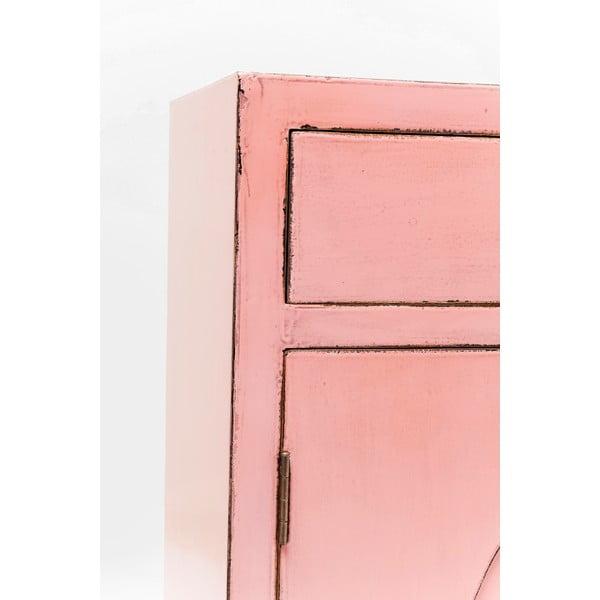 Růžová komoda Kare Design Disk