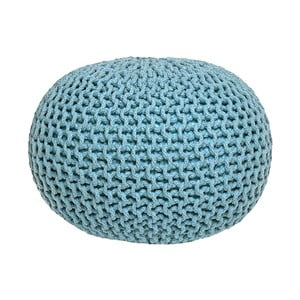 Pouf tricotat LABEL51 Knitted, turocaz