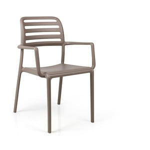 Židle Costa Tortora, hnědá